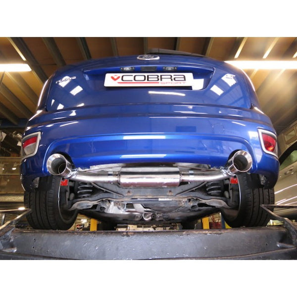 Cobra Cat Back System (Resonated) for Focus ST 225 - Car Enhancements UK