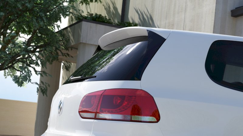 REAR SIDE SPOILER EXTENSION VW GOLF VI GTI (R400 LOOK)