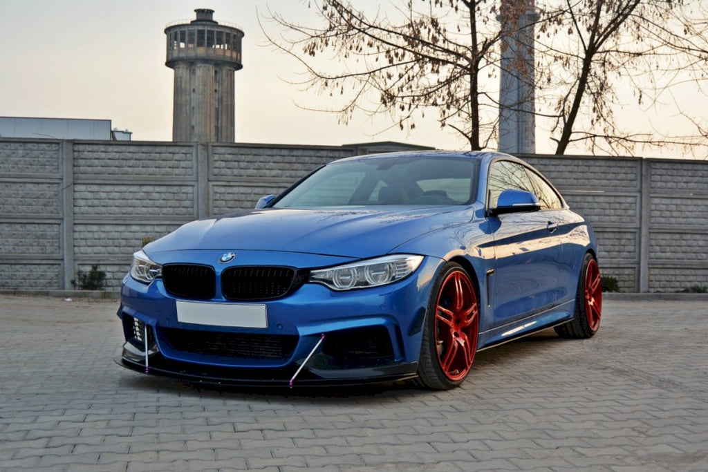 FRONT RACING SPLITTER V.3 BMW 4 F32 M-SPORT & M-PERFORMANCE (2013-2016)