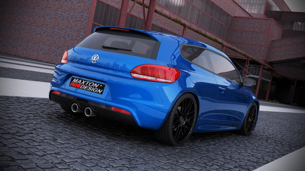 Rear Valance Vw Scirocco Iii R With 2 Exhaust Holes Car Enhancements Uk