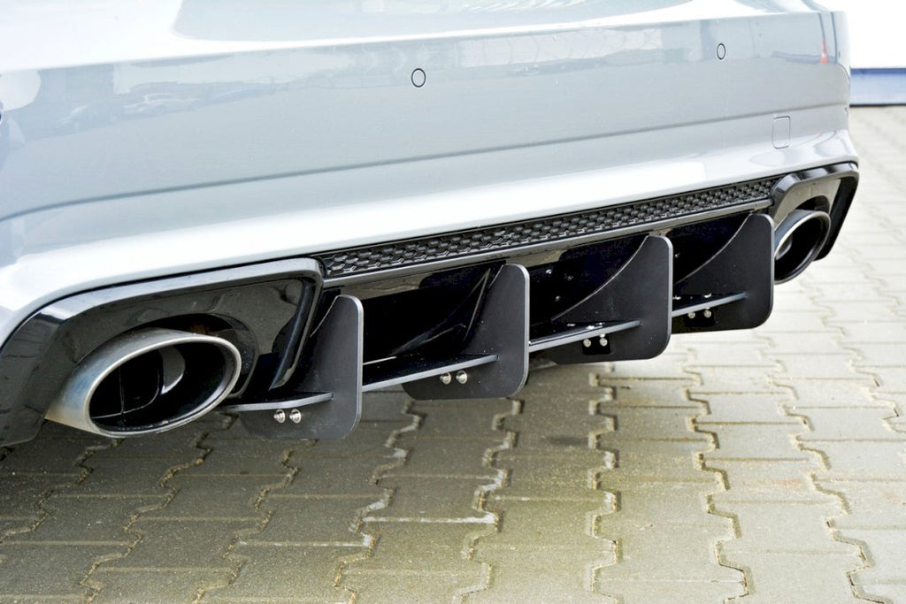 REAR DIFFUSER AUDI RS3 8VA SPORTBACK PRE-FACELIFT (2015-2016) - Car Enhancements UK