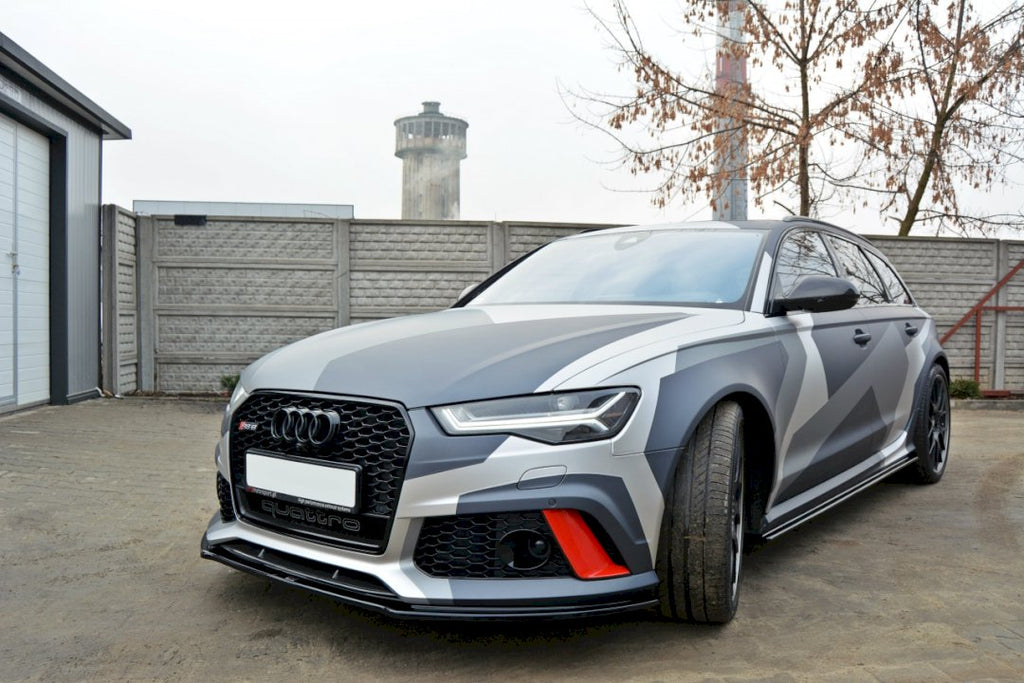FRONT SPLITTER V.1 AUDI RS6 C7 - Car Enhancements UK