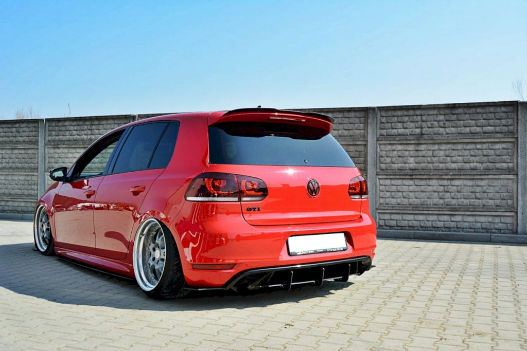 REAR DIFFUSER & REAR SIDE SPLITTERS VW GOLF MK6 GTI / 35TH