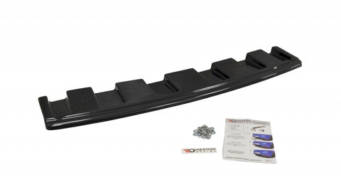 CENTRAL REAR SPLITTER AUDI S6 C7 AVANT (WITHOUT VERTICAL BARS) - Car Enhancements UK