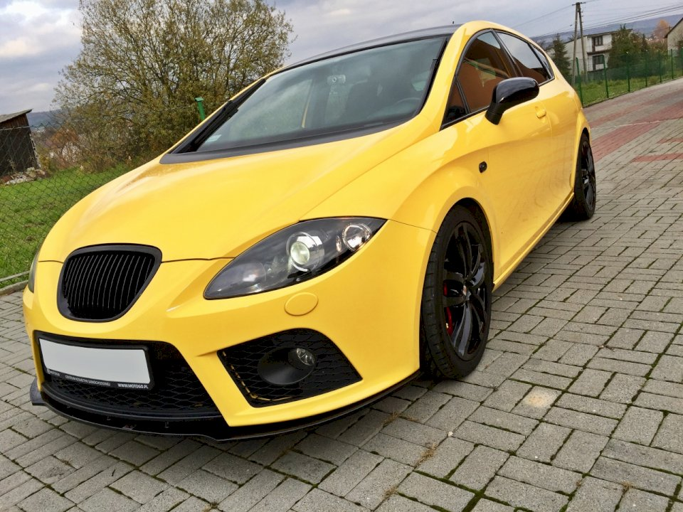 FRONT SPLITTER SEAT LEON MK2 CUPRA FR PREFACE - Car Enhancements UK