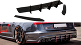 AUDI S6 C7 AVANT (CNC) REAR DIFFUSER & REAR SIDE SPLITTERS - Car Enhancements UK