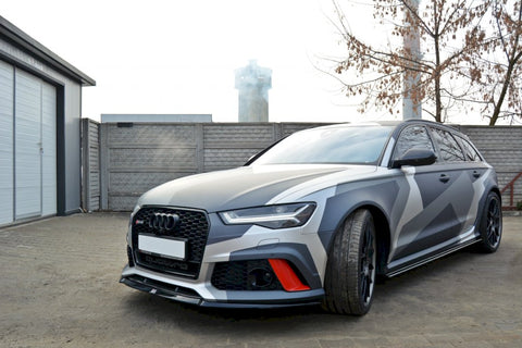 FRONT SPLITTER V.2 AUDI RS6 C7 - Car Enhancements UK