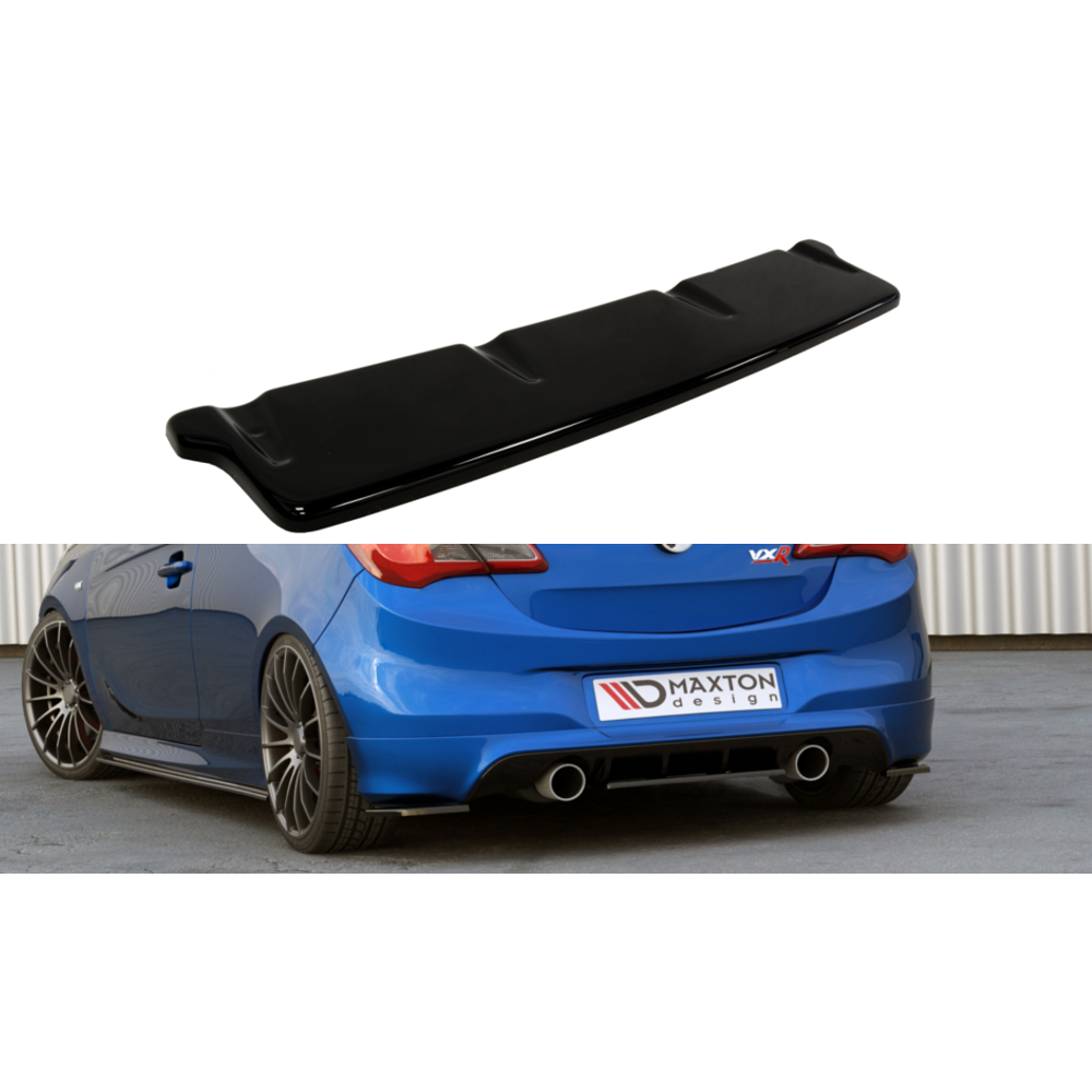 Maxton Design - Corsa E VXR Rear Central Splitter