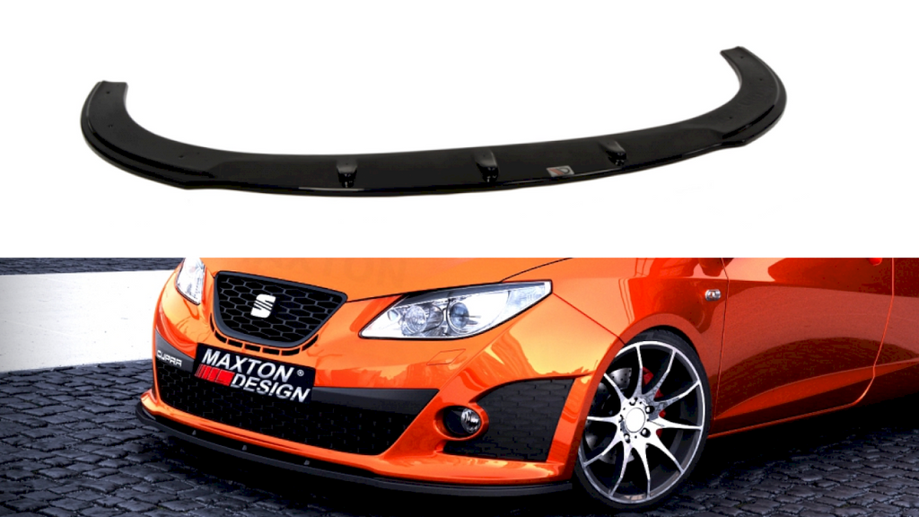 FRONT SPLITTER SEAT IBIZA IV CUPRA(6J) PREFACE MODEL - Car Enhancements UK