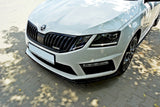 FRONT SPLITTER V.1 SKODA OCTAVIA MK3 VRS/ MK3.5 VRS - Car Enhancements UK