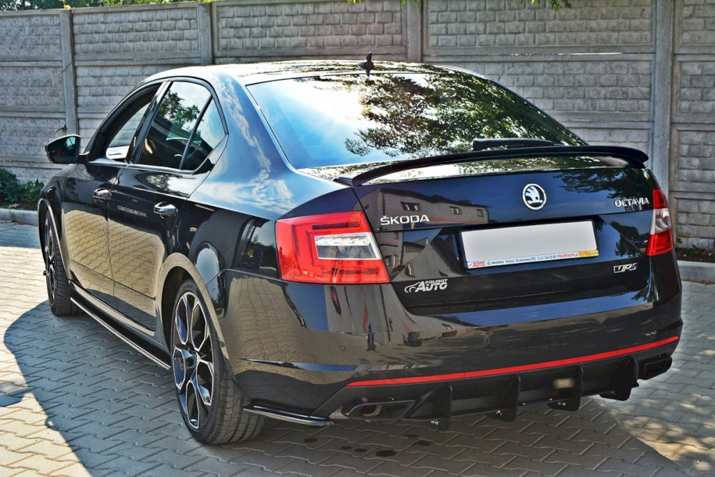 REAR DIFFUSER SKODA OCTAVIA VRS MK3/ MK3.5 HATCHBACK/ ESTATE - Car Enhancements UK