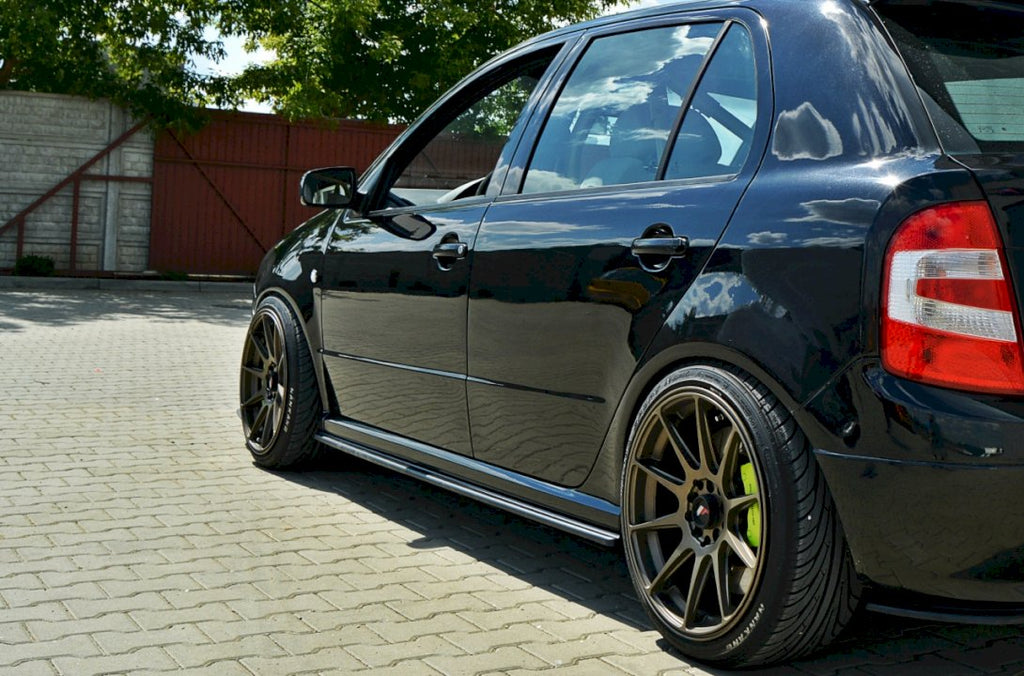 SIDE SKIRTS DIFFUSERS SKODA FABIA I RS - Car Enhancements UK