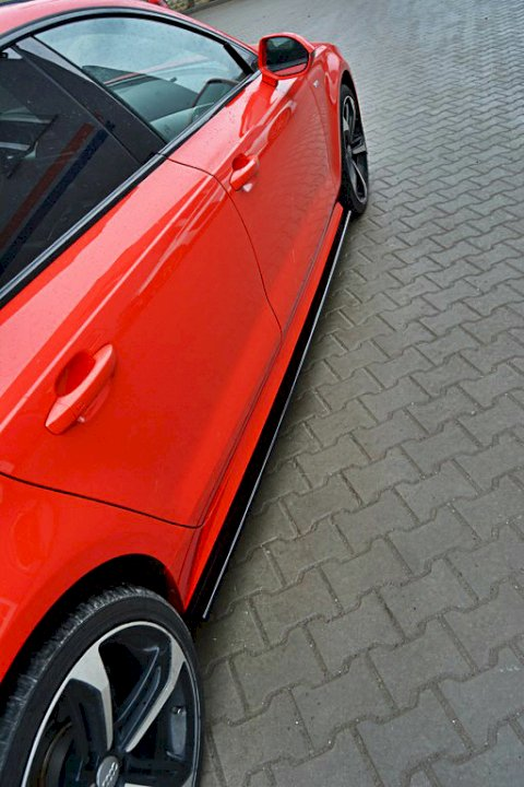 SIDE SKIRTS DIFFUSERS AUDI S7 / A7 S-LINE C7 FL (2014-2017) - Car Enhancements UK