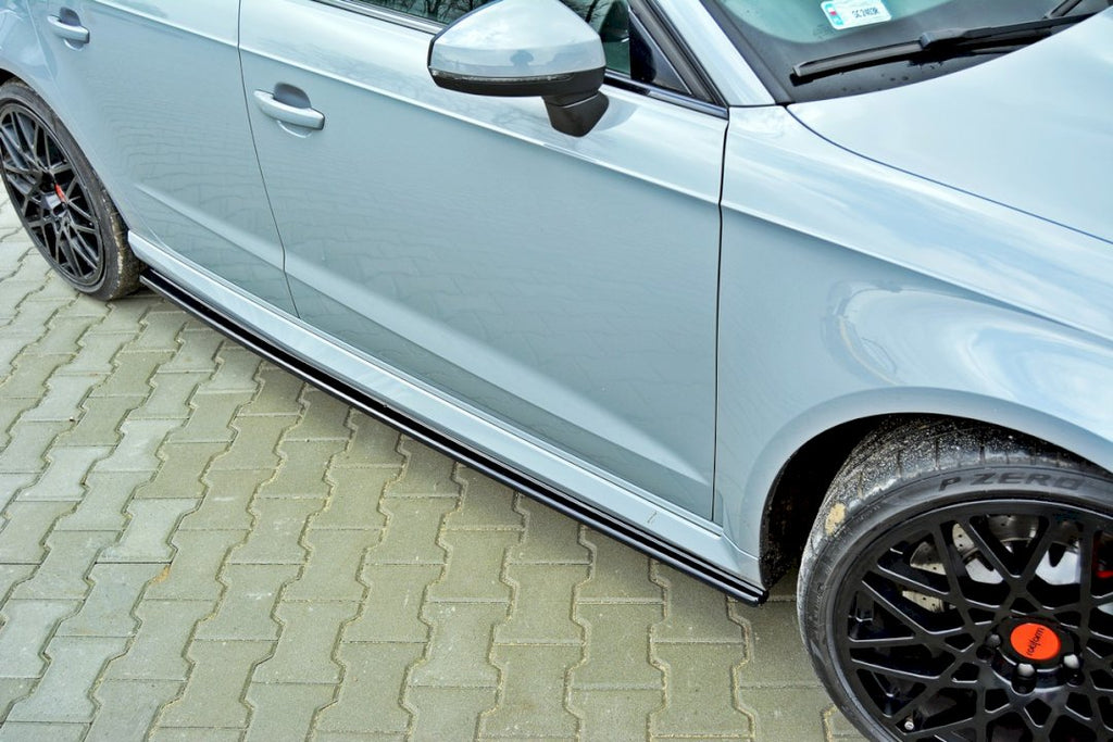 SIDE SKIRTS DIFFUSERS AUDI RS3 8VA PRE-FACELIFT (2015-2016) - Car Enhancements UK