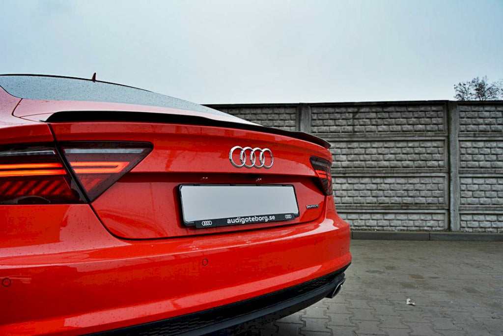 SPOILER CAP AUDI S7 / A7 S-LINE C7 / C7 FL - Car Enhancements UK