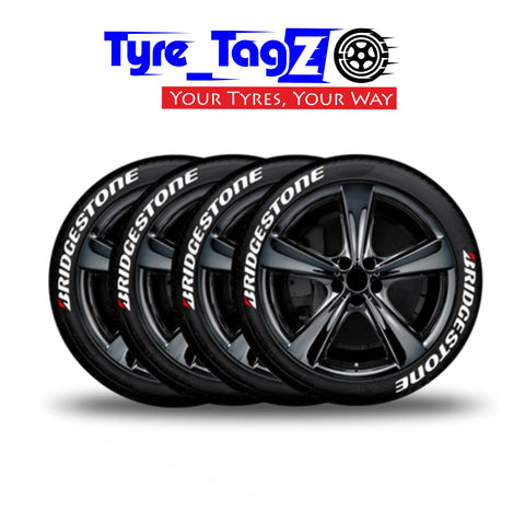 Tyre Tagz - Multiple Design Tyre Logo Stickers - Car Enhancements UK
