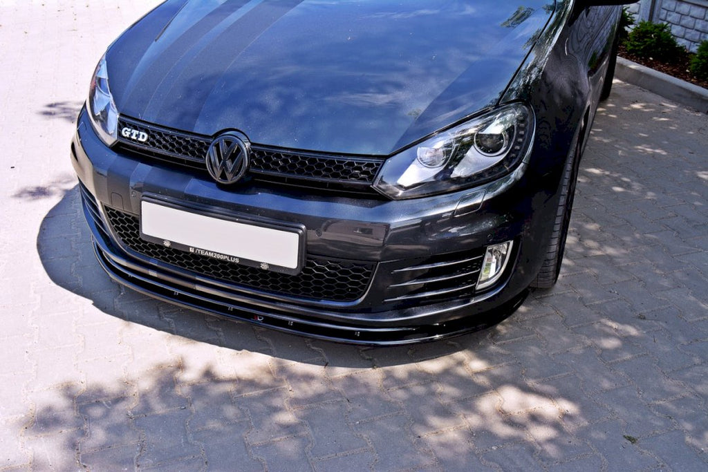Front Splitter VER.2 VW GOLF MK6 GTI - Car Enhancements UK
