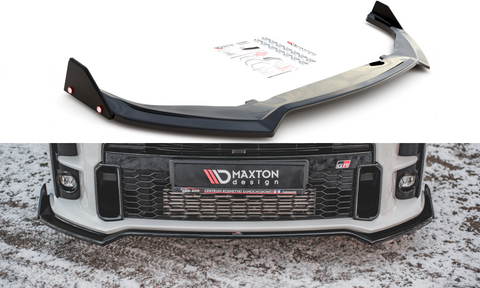 FRONT SPLITTER + FLAPS V.3 TOYOTA GR YARIS MK4 - Car Enhancements UK