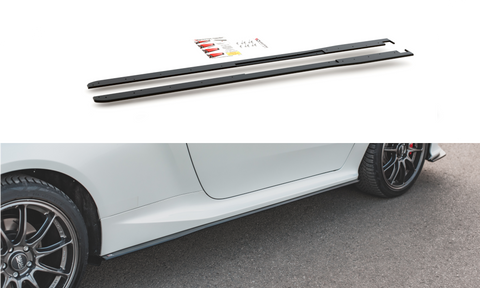 RACING DURABILITY SIDE SKIRTS DIFFUSERS TOYOTA GR YARIS MK4 - Car Enhancements UK
