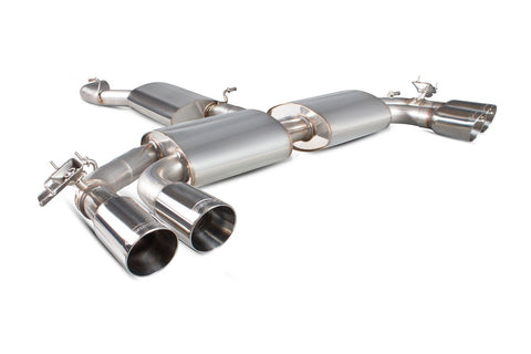 Scorpion Exhausts Audi S3 2.0T 8V Saloon Resonated cat-back system with electronic valves - Car Enhancements UK