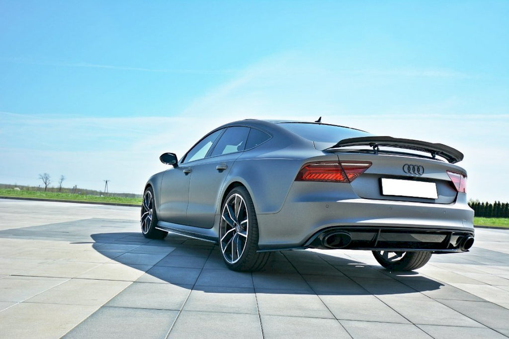 CENTRAL REAR SPLITTER AUDI RS7 FACELIFT (2014-2017) - Car Enhancements UK