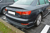 REAR SPLITTER AUDI A4 B9 S-LINE SEDAN (2015 - UP) - Car Enhancements UK