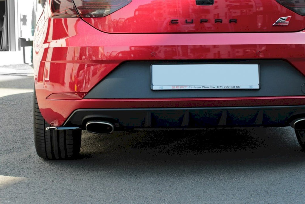 REAR SIDE SPLITTERS V.1 SEAT LEON MK 3.5 CUPRA - Car Enhancements UK