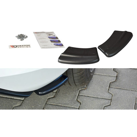 Maxton Design- Fiesta MK8 ST and St-Line Rear Side Splitters - Car Enhancements UK