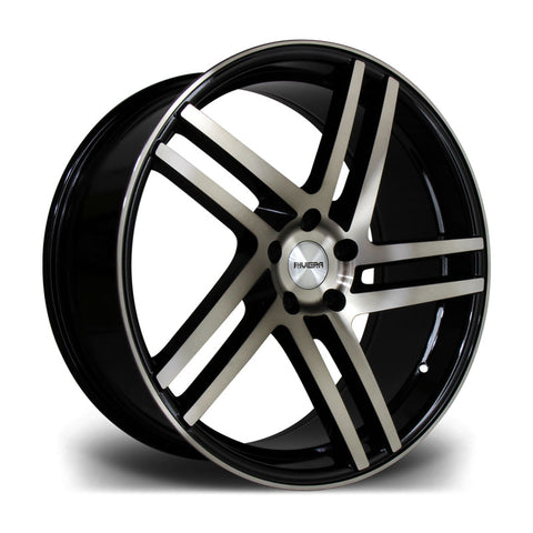 RIVIERA TWIST 20X9.5 5X112 42 73.1 BLACK BRONZE - Car Enhancements UK