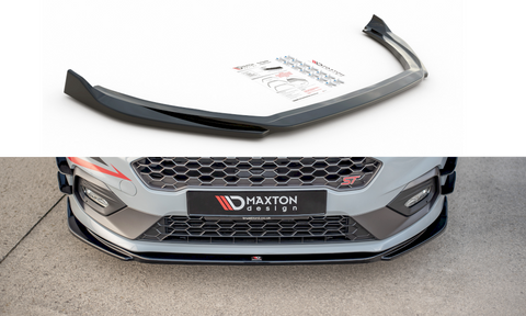 FRONT SPLITTER V1 FORD FIESTA ST/STLINE MK8 (2018-) - Car Enhancements UK