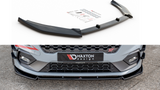FRONT SPLITTER V4 FORD FIESTA ST/ST LINE MK8 (2018-) - Car Enhancements UK
