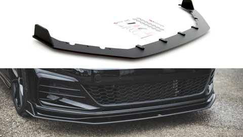 MAXTON RACING FRONT SPLITTER VW GOLF MK7.5 GTI TCR (2019-2020) - Car Enhancements UK