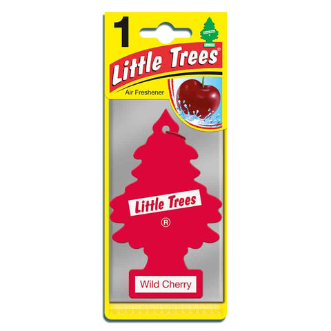 Little Trees Hanging Air Freshener Wild Cherry - Car Enhancements UK