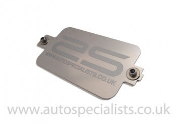 Fiesta Mk7 Battery top securing plate, Plain or with AS logo - Car Enhancements UK