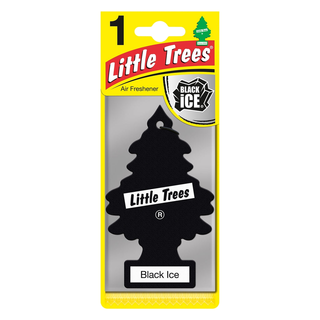 Little Trees Hanging Air Freshener Black Ice - Car Enhancements UK