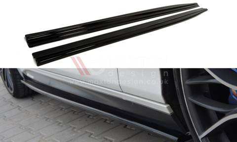 SIDE SKIRTS DIFFUSERS BMW 1 F20/F21 M-POWER (PREFACE) - Car Enhancements UK