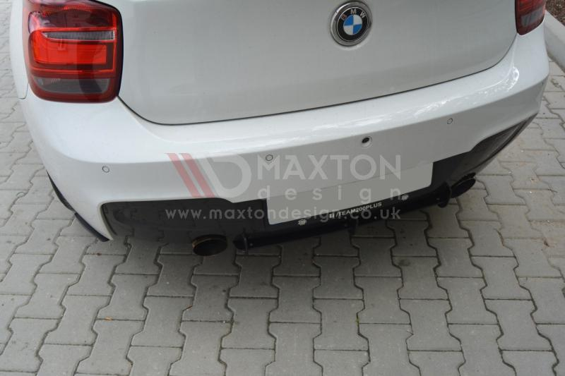 BMW 1 F20/F21 M-POWER REAR DIFFUSER & REAR SIDE SPLITTERS (PREFACE) - Car Enhancements UK