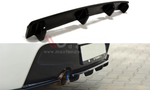 CENTRAL REAR SPLITTER BMW 1 F20/F21 M-POWER (WITH VERTICAL BARS) - Car Enhancements UK