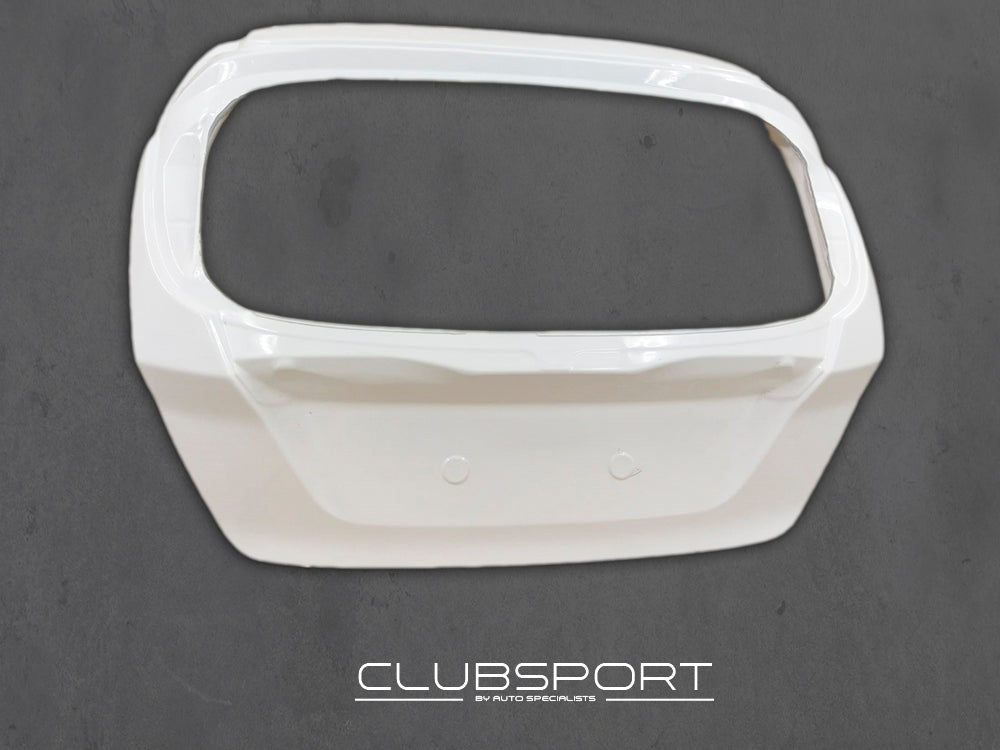 Clubsport by AutoSpecialists Lightweight Composite Tailgate Fiesta Mk7 incl. ST180 - Car Enhancements UK