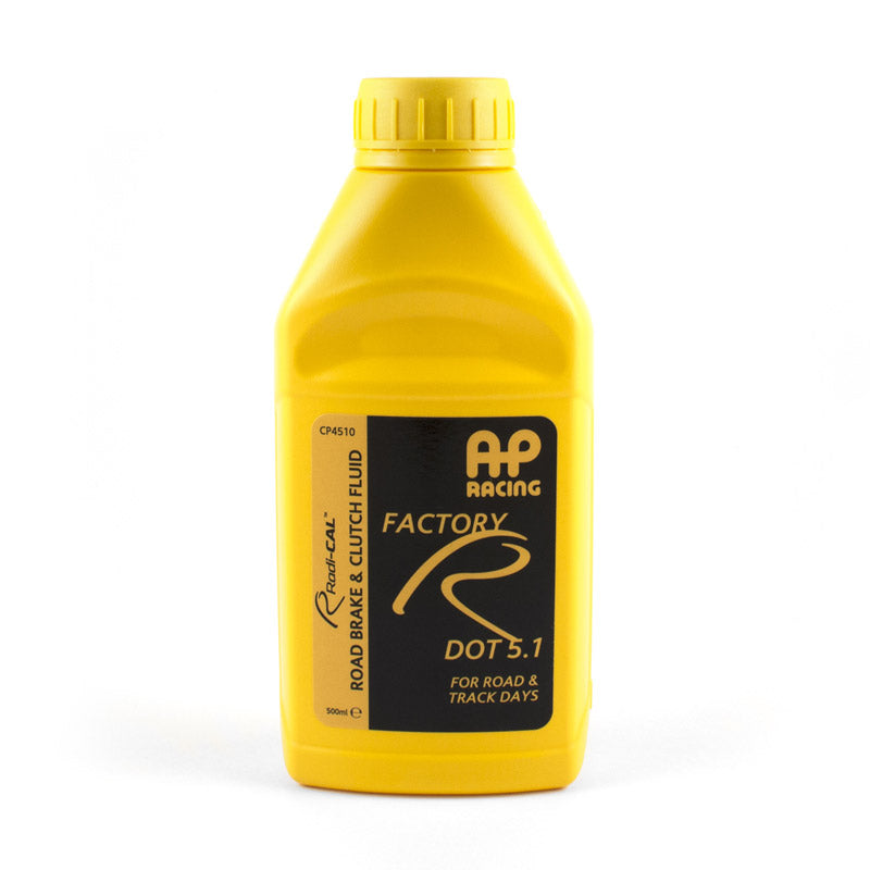 AP Racing DOT 5.1 Brake Fluid 0.5 Litre Bottle - Car Enhancements UK