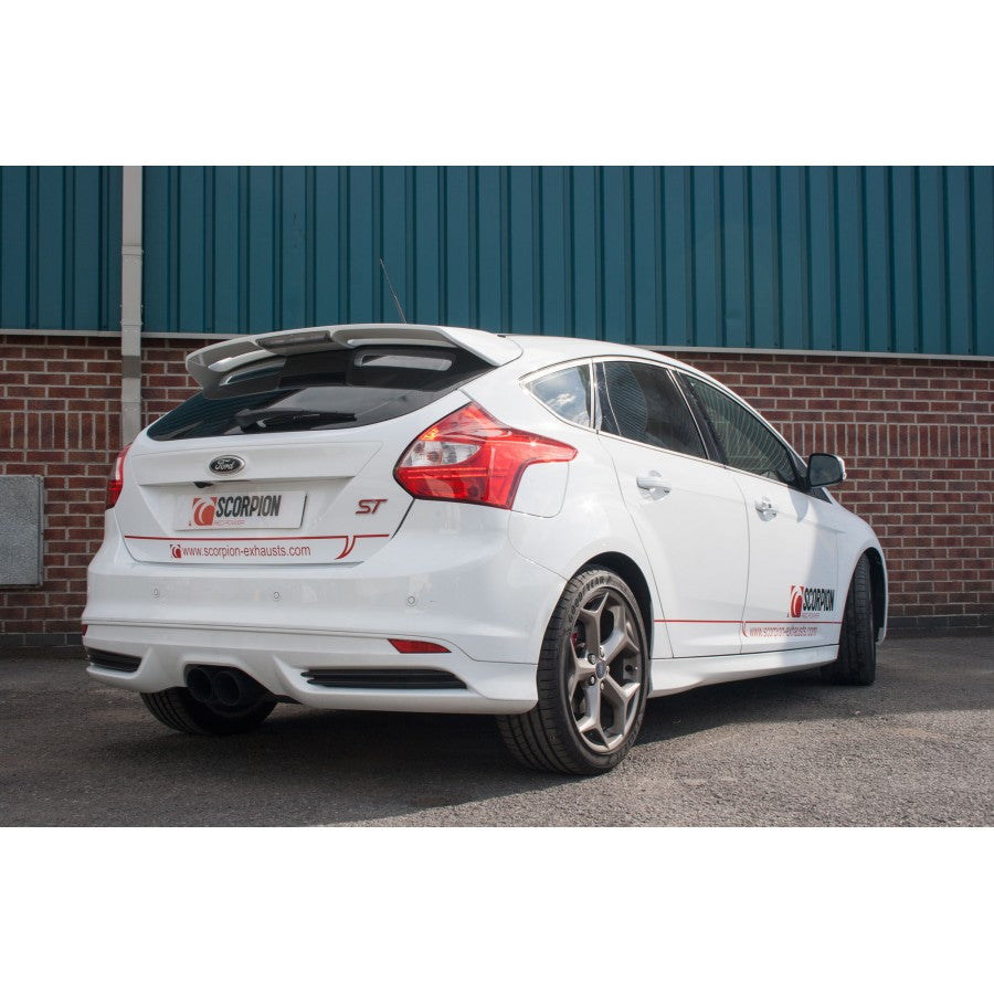 Focus ST250 HATCHBACK Scorpion Exhausts Cat Back System - RESONATED - Car Enhancements UK