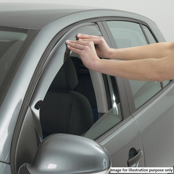 MK7 Fiesta 3 Door - Climair Wind Deflectors - Car Enhancements UK