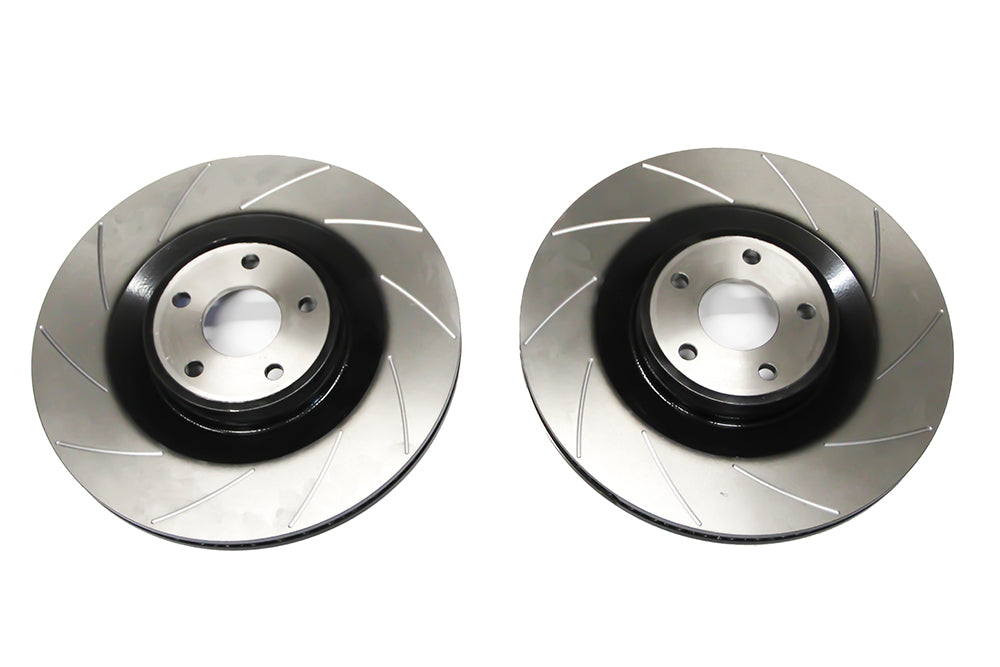 Auto Specialists 'Club Sport' grooved front discs for Focus RS MK3 - Car Enhancements UK