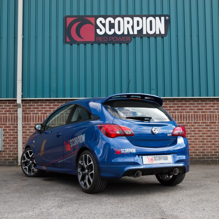 Scorpion Exhausts Cat Back - Corsa E VXR