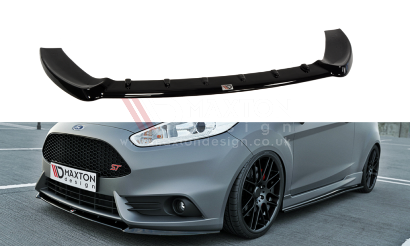 FRONT SPLITTER (CUPRA) FIESTA MK7 ST FACELIFT 2013-UP - Car Enhancements UK
