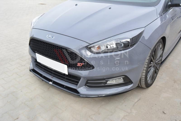 Front Splitter Focus St Mk3 Cupra Facelift Model Car