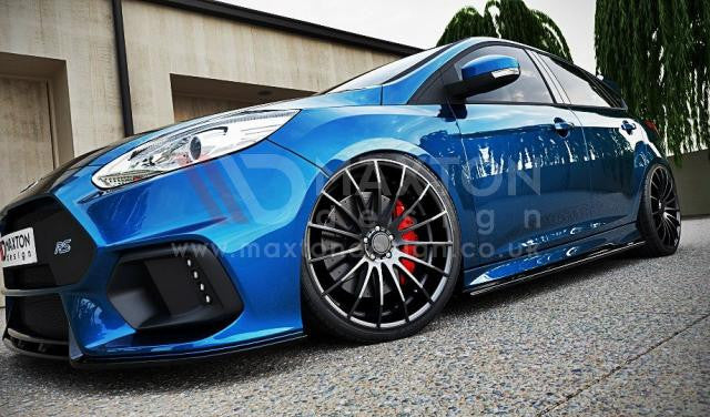 SIDE SKIRTS DIFFUSERS FORD FOCUS MK3 ST