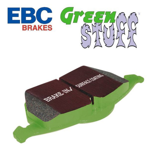Focus ST Mk3 EBC Green Stuff Rear Pads - Car Enhancements UK