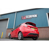 Scorpion Exhausts - Fiesta MK7 1.0 EcoBoost Cat Back (For ST Rear Valance) - Car Enhancements UK