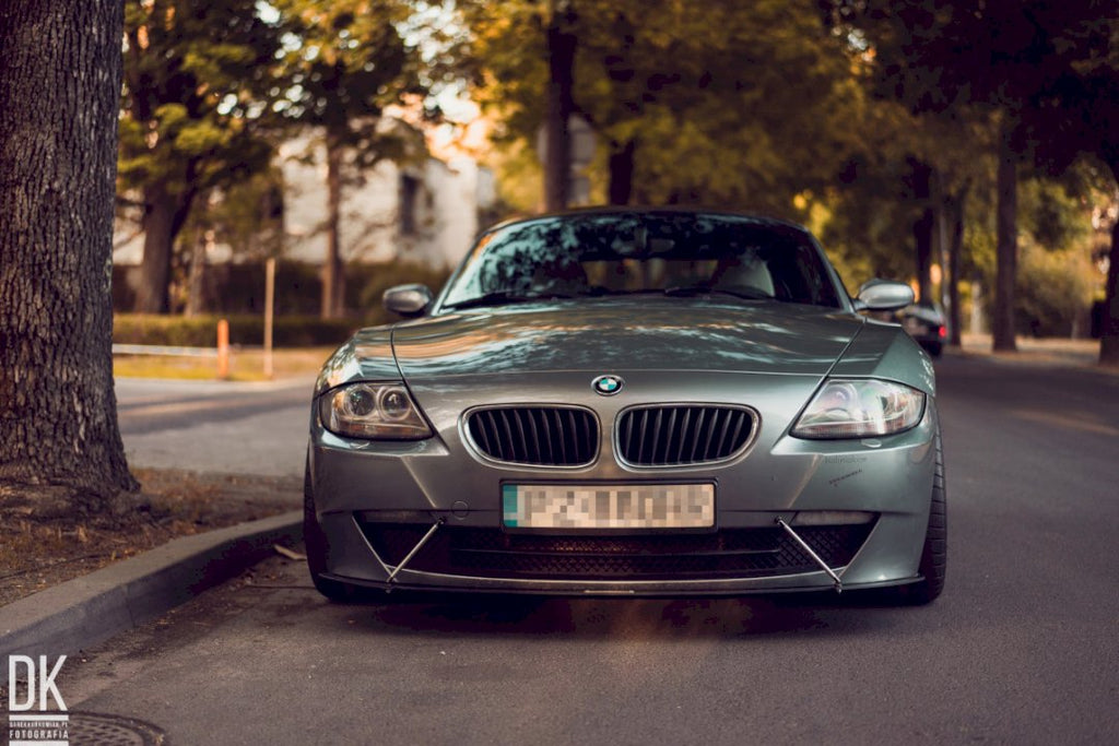 FRONT RACING SPLITTER BMW Z4 E86 COUPE (2006-2008)
